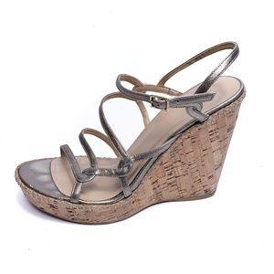 Stuart Weitzman Shoes - Stuart Weitzman   cork wedge heels sandals